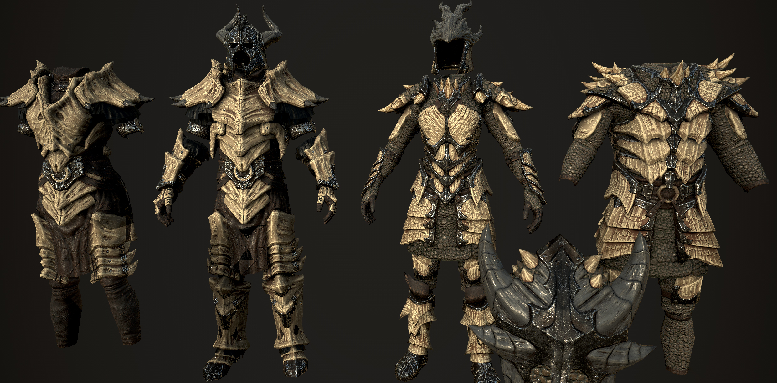 Frankly Hd Dragonbone And Dragonscale At Skyrim Special Edition Nexus Mods And Community Dragon armor or dragon set is a top tier hardmode melee armor / vanity set. frankly hd dragonbone and dragonscale