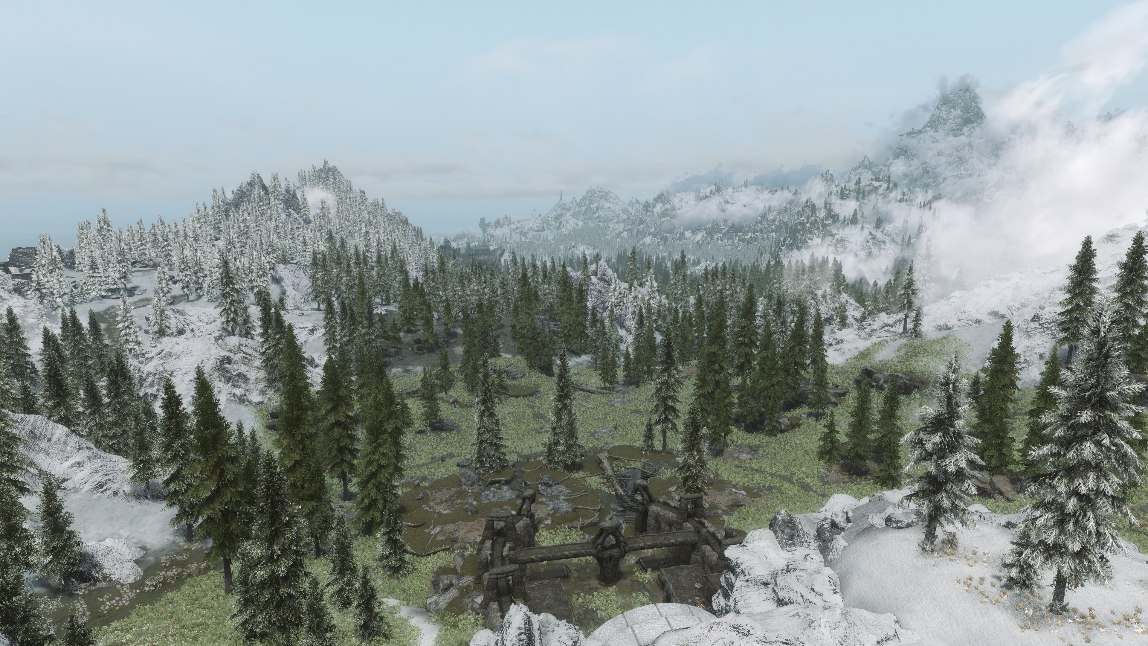 Evt 3d Lods And Dyndolod At Skyrim Special Edition Nexus Mods And Community