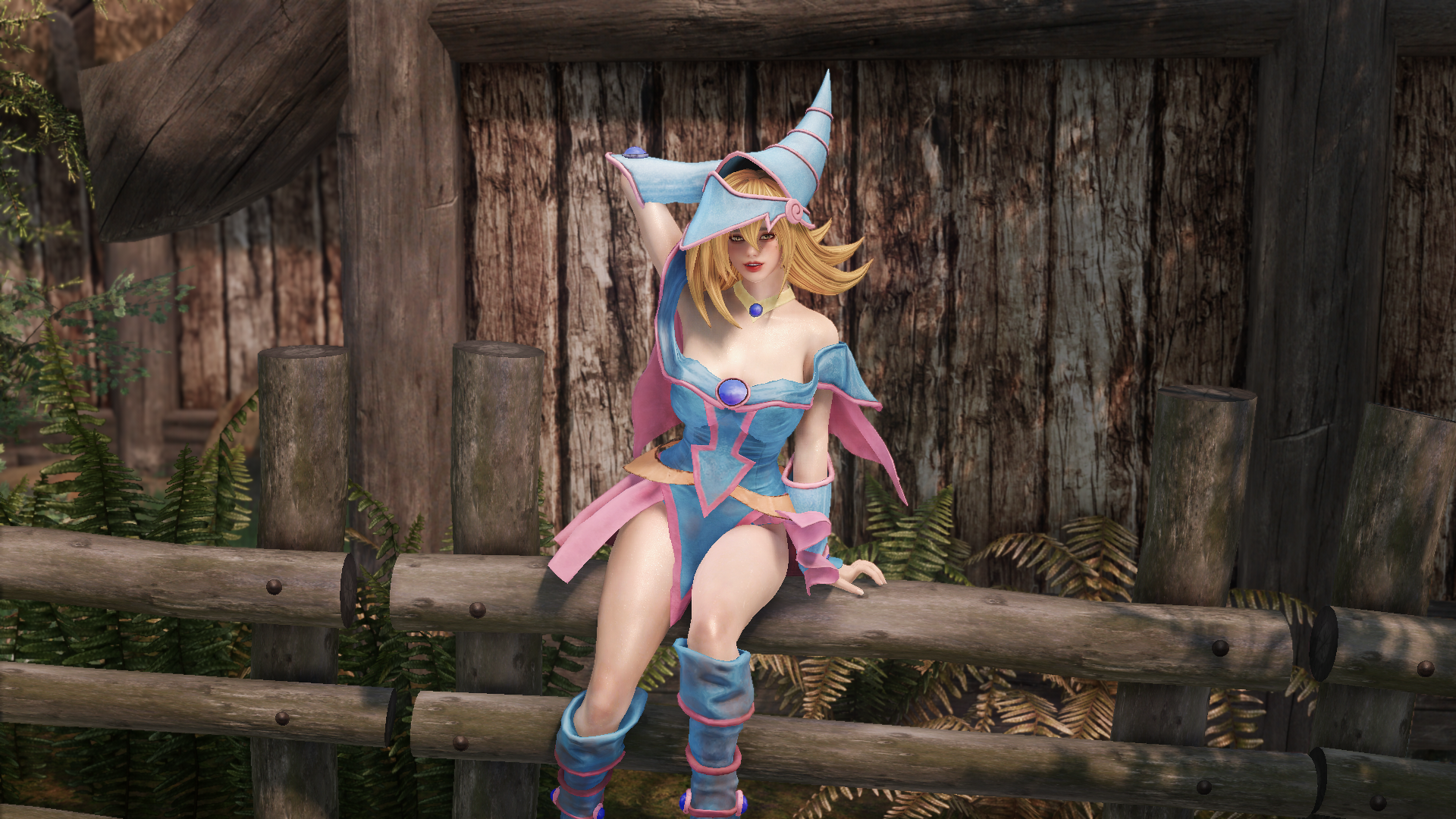 The Black Magician Girl At Skyrim Special Edition Nexus Mods And