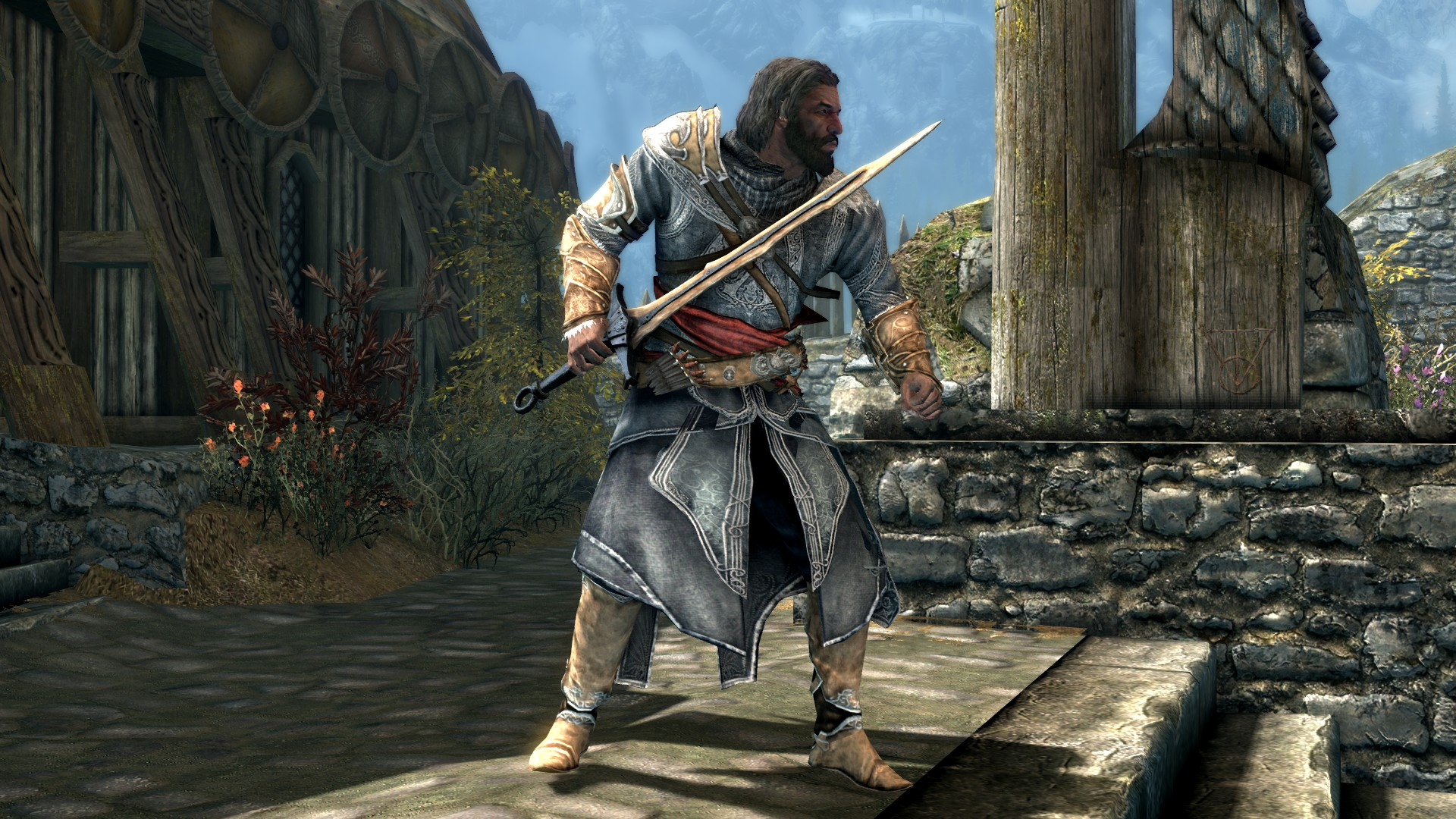 Ezio S Armor From Assassin S Creed Revelations At Skyrim Special