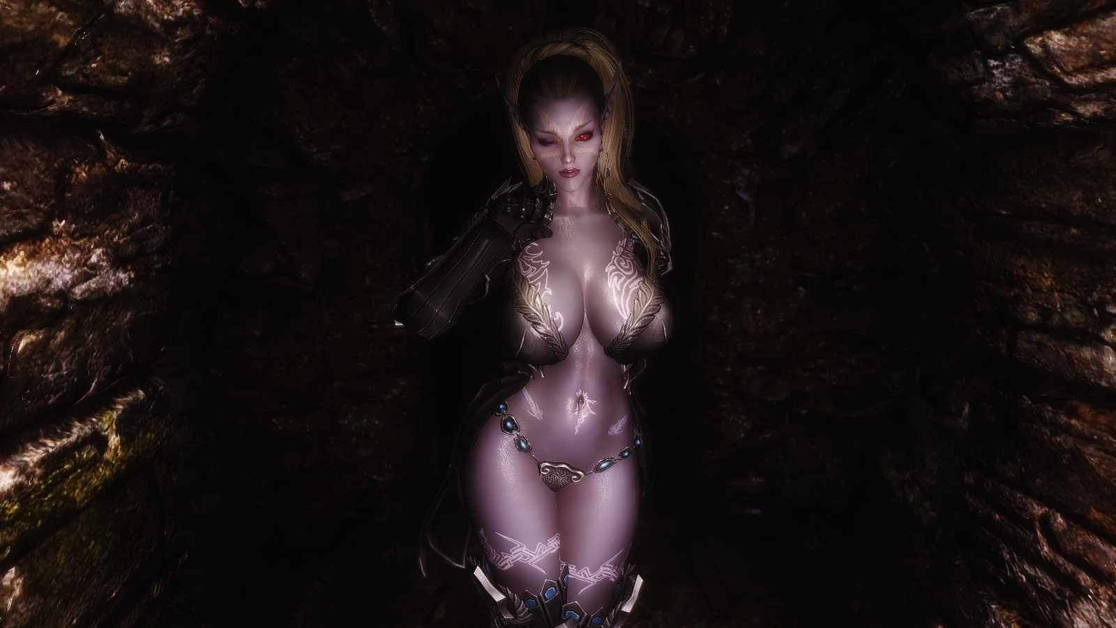 Sexy Dark Elf At Skyrim Special Edition Nexus Mods And Community