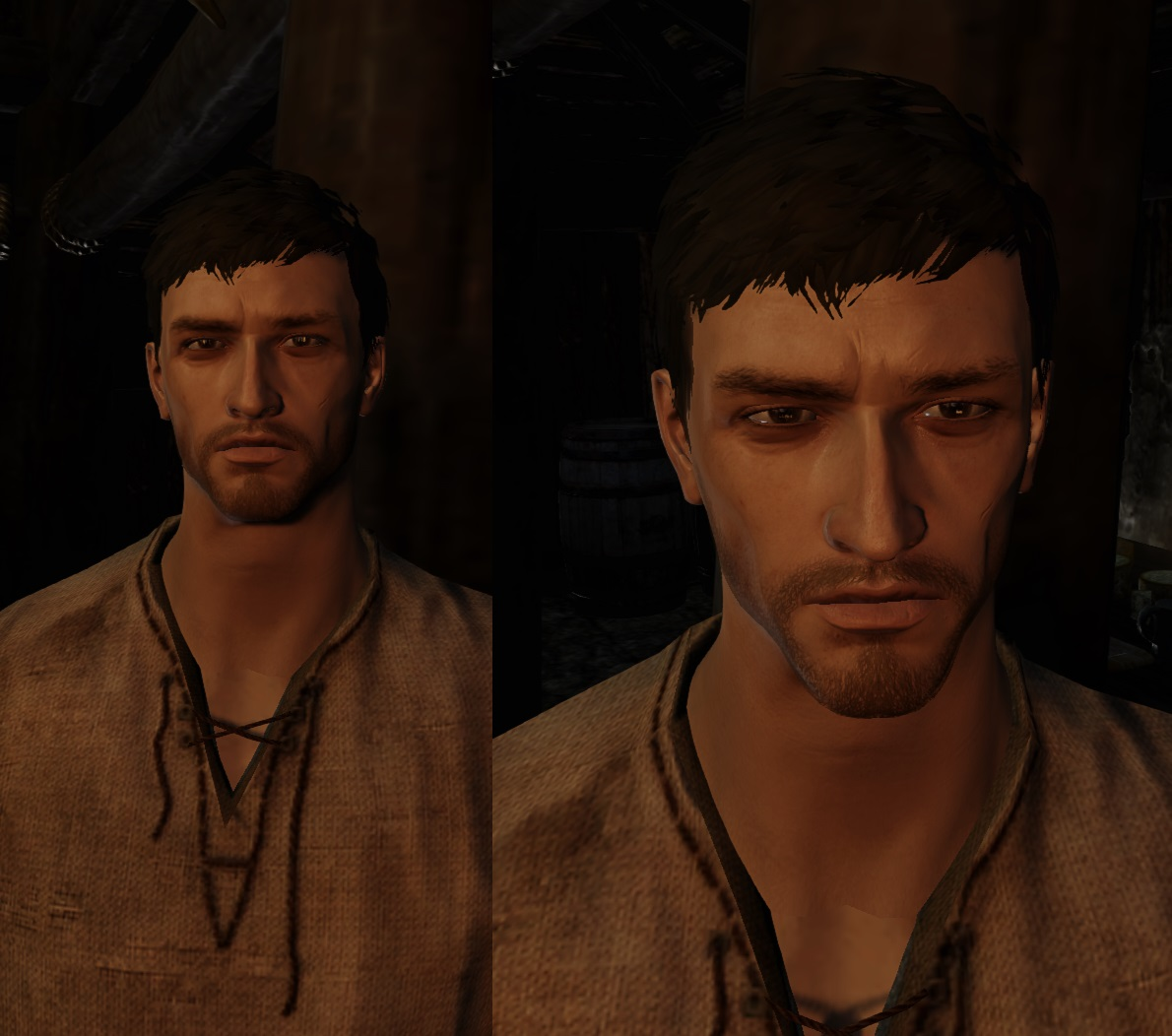 COtR with Alistair Normal Map head textures