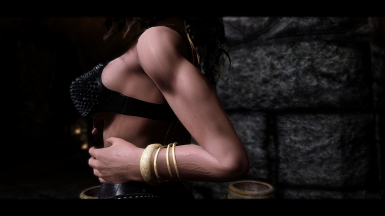 Probably most realistic skin texture skyrim se