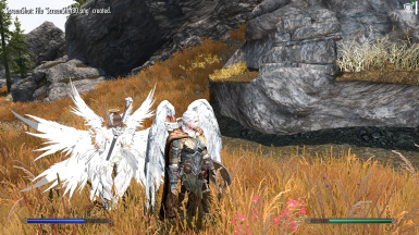 Aasimar mod with Anton Feathered Wings