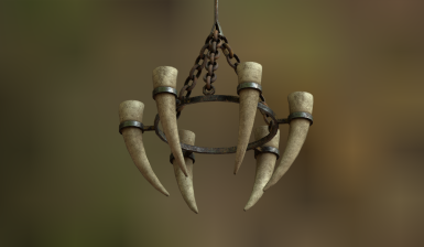 medieval candlehorns wip