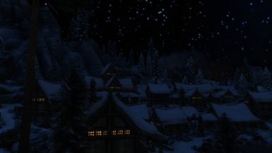 Night over Dawnstar
