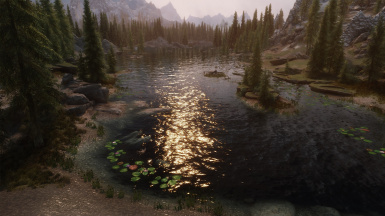 Vivid Weathers with enb water