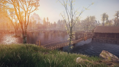 Riften Docks Pathways