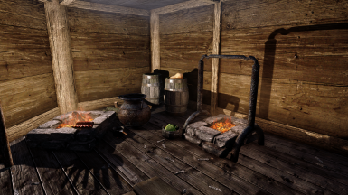 Windhelm interior and riften exterior