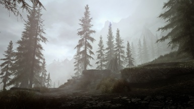 Morning Fog - Road to Whiterun