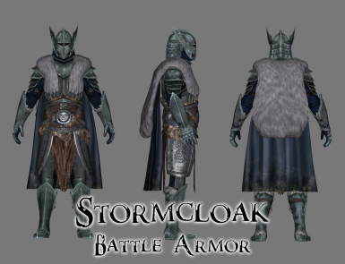 Personal Mashup Armor - Stormcloak Battle Armor Set