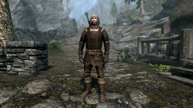 Forsworn armor Medieval style