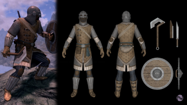 New Armor I've been working on for my SSE playthrough