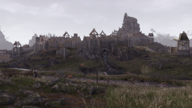 Whiterun 1 on a misty day - High Res