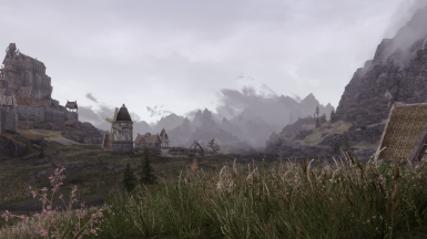 Whiterun 2 on a misty day - High Res