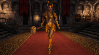 If Thor was a Dunmer Woman