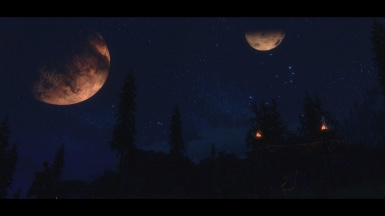 New realistic cinematic ENB project Night time
