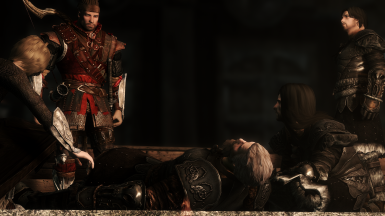 Mourning of a Warrior