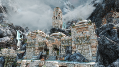 Markarth with Imaginarium ENB and Obsidian Weathers and Seasons