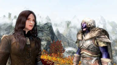 With my best friend in all Tamriel