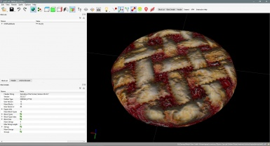 new HD textures for the pie finished