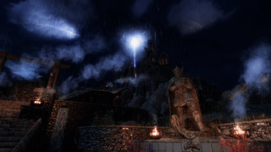 Thunderstorm over Dragonsreach