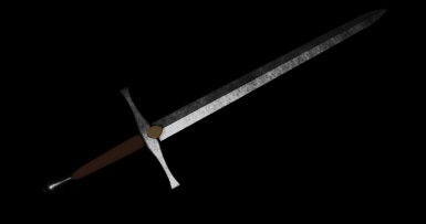 First attempt at creating a sword