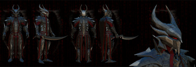 Champion Of Molag Bal Armor And Sword Wip Final High Poly Render