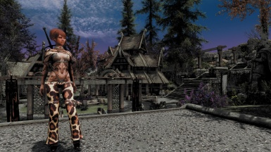 after an Day ENB adjusting and Charcreating