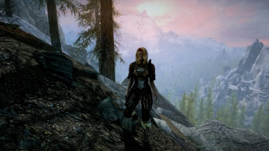 Sunset in Kalkreath with Kelly