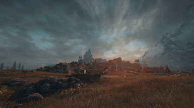 Sunrise over Whiterun
