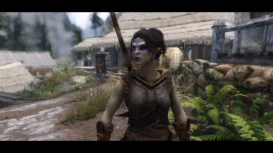New ENB Detailed Shadows and a really nice Orc lady