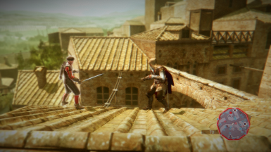 San Gimignano Rooftop Fight