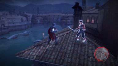 Florence Rooftop Fight