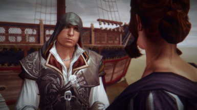 Ezio and Caterina