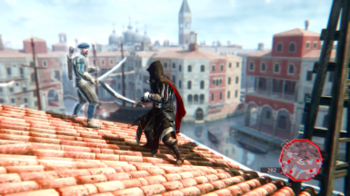 Venice Rooftop Fight