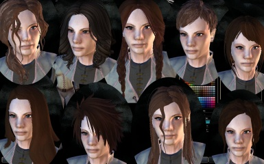 Dasaria2 Recent Hairstyle Conversions