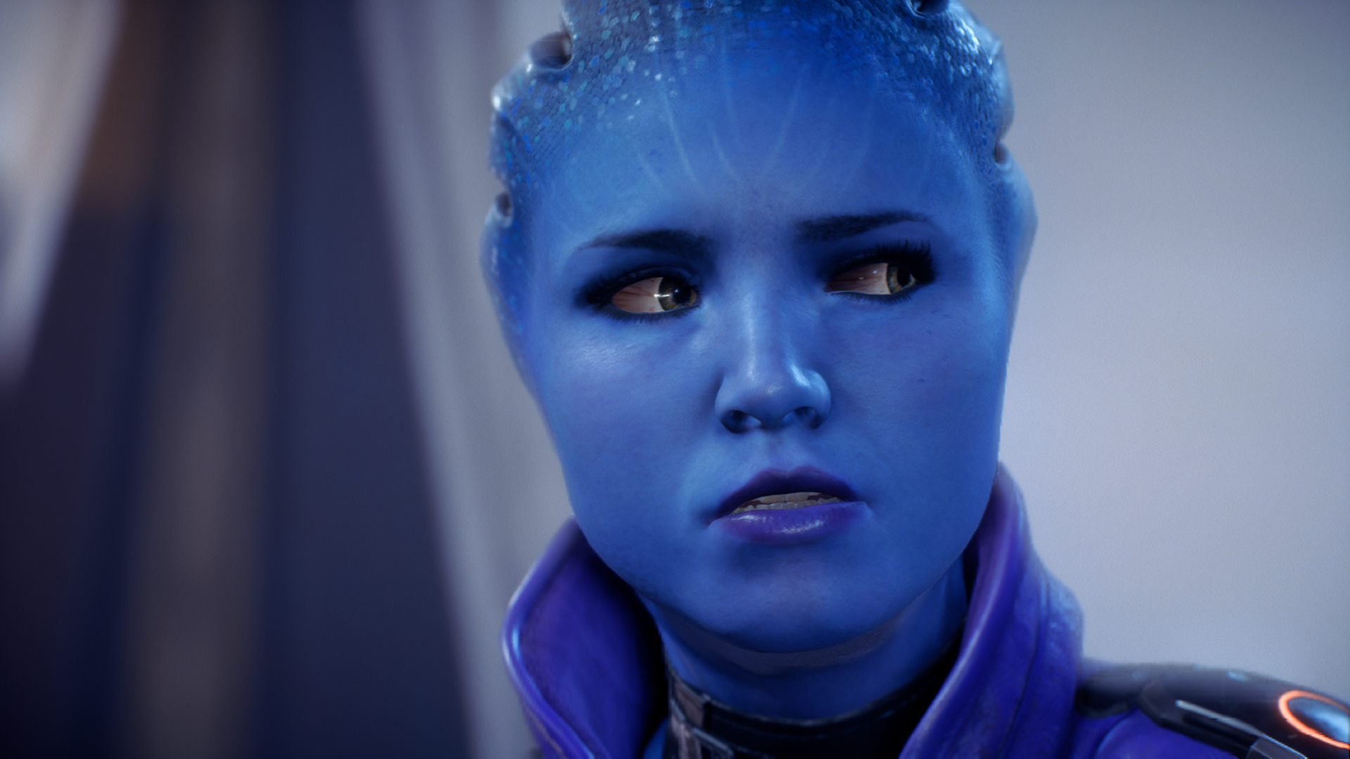Lone wolf, artifact tinkering, fast-talking Peebee might not be the best animated.