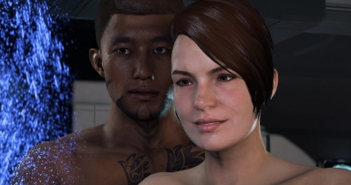Scott Ryder and Cora
