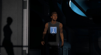 Scott Ryder with tattoos