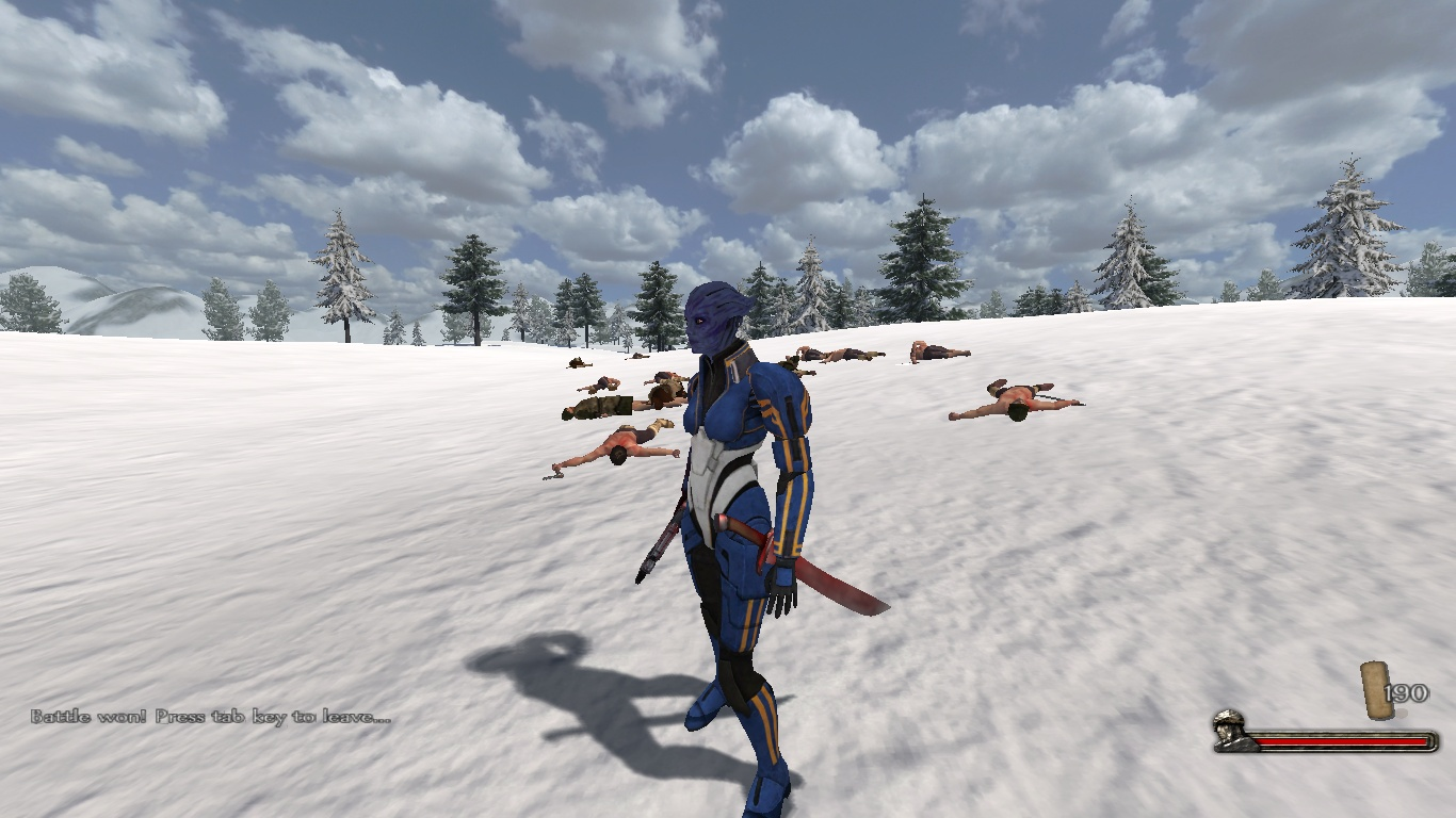 Merging Mass Effect 2 with Warband