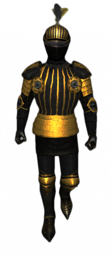 Golden Griffin Knight