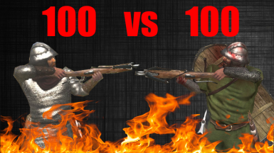 Swadian Sharpshooter VS Rhodok Sharpshooters