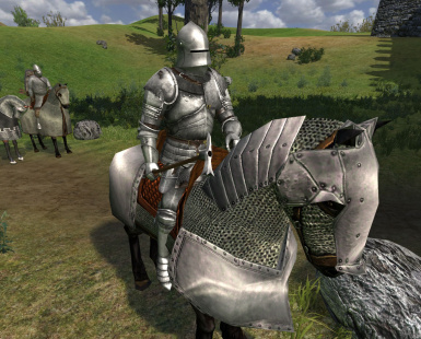 Witcher 2 Heavy Plate Ported to Mount and Blade Warband - 1