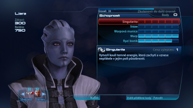 Liara trying cosplay as Aria