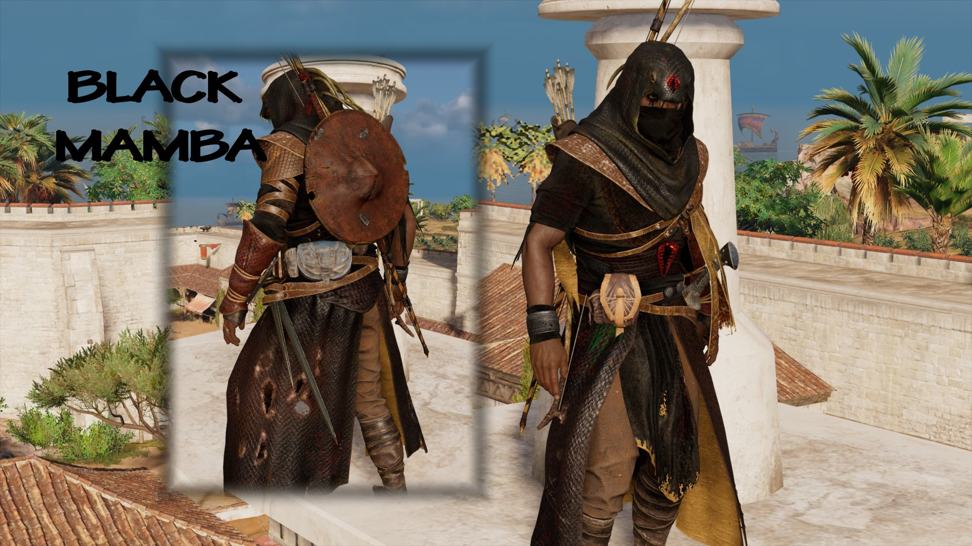 Black Mamba Armor At Assassin S Creed Origins Nexus Mods And