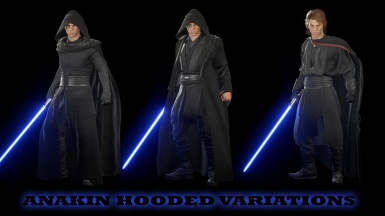 Anakin Hooded Variations