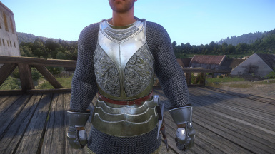 SPOA Silver Knight Armor KCD version
