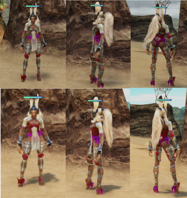 Help Choose Which Color Scheme for Fran Mod