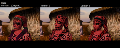 Mod Comparsion of Darth Talon